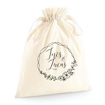pochette zéro déchet en coton bio à offrir modèle Hoop