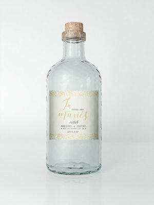 étiquette bouteille d'eau à personnaliser