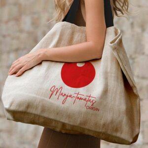 grand sac cabas très grande contenance et solide Tomatas