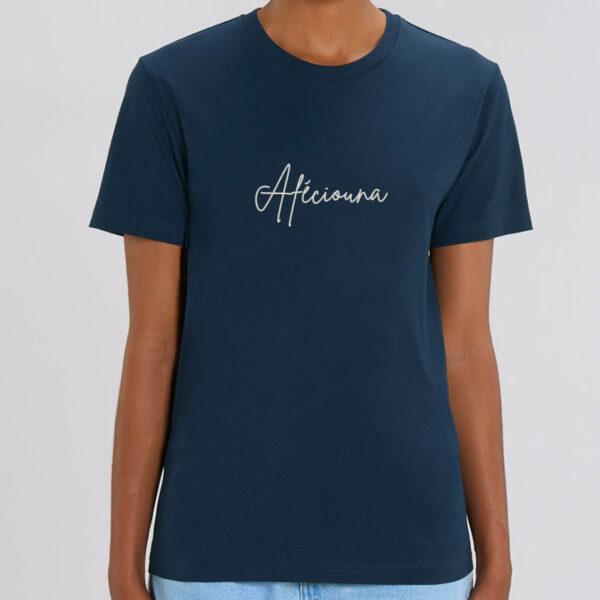 "T-shirt coton bio personnalisé Montpellier ""Afeciouna"" Homme"
