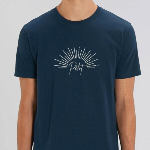 """T-shirt homme éco-responsable design original """"Pélot"""""""