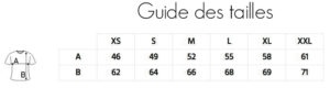 Guide-tailles