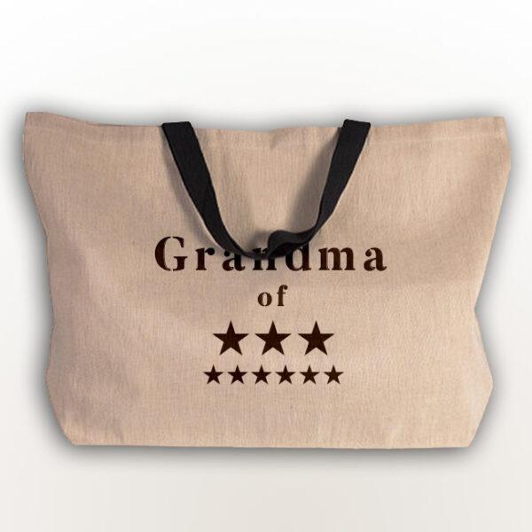joli sac cabas cadeau personnalisé pour mamie