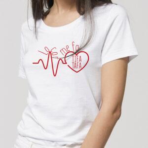 Tee shirt Bio sérigraphié en langue du sud Tifa-Tafa