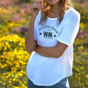 T-Shirt_Manche_longue_Femme-BLANC_WonderMom