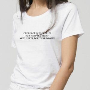 T-shirt_coton_bio_personnalisable_femme_texte_droit